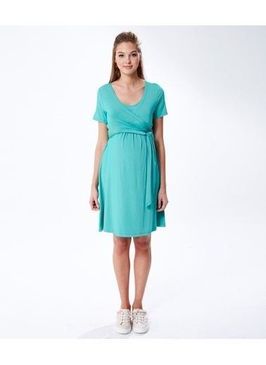 Hooyo Hamile Elbisesi Yeşil